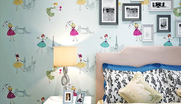 Papel de parede: elemento fundamental na decoração do quarto infantil