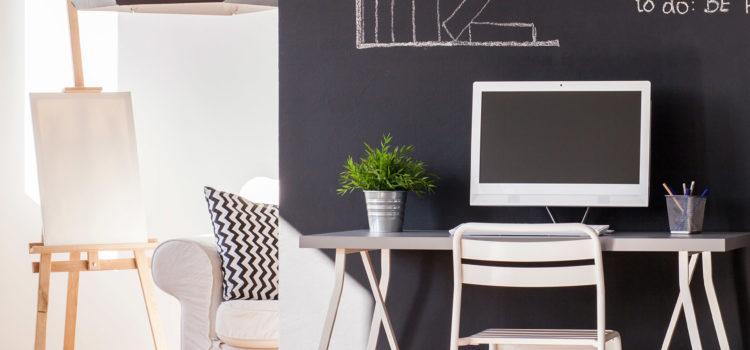 Renove seu escritório com papel de parede