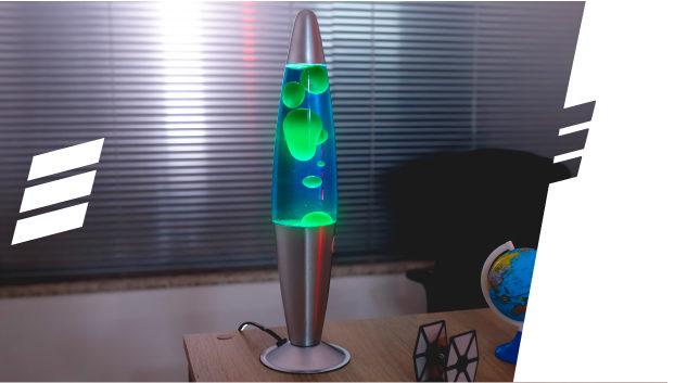 Lava Lamp Verde, Melhor Combinação!