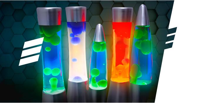 Lava Lamps: Confira as Formas e Modelos!