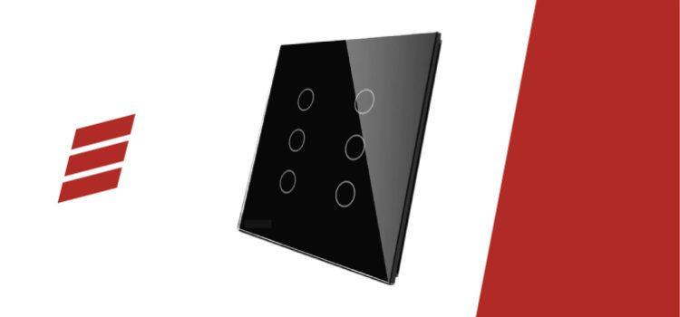 Como instalar interruptor Livolo 4×4 com 6 botões Remote e Paralelo