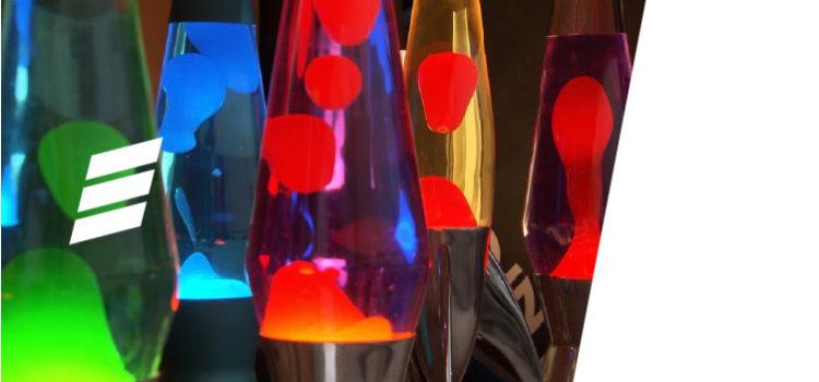 As Lava Lamps deixam seu ambiente mais bonito