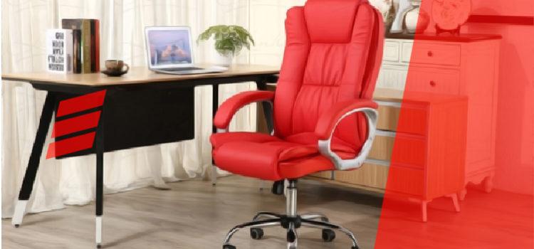 Cadeira para Escritório Vermelha: Deixe agora seu ambiente moderno e ousado