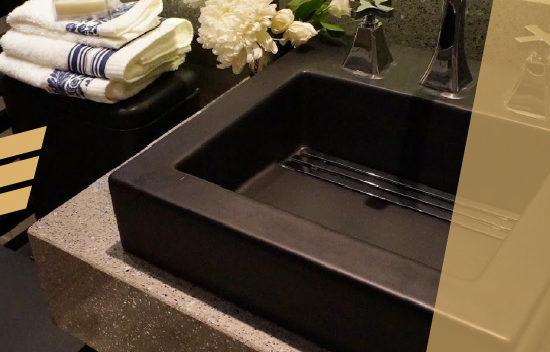 Cuba para banheiro preta: como utilizar essa peça em seu banheiro de forma inteligente